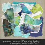 Capturing Spring Torn Bits Pack-$3.99 (Jumpstart Designs)