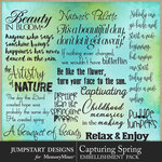 Capturing Spring WordArt Pack-$3.99 (Jumpstart Designs)