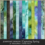 Capturing Spring Art Paper Pack-$3.99 (Jumpstart Designs)