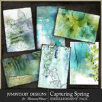 Capturing Spring Art Cards Pack-$2.99 (Jumpstart Designs)