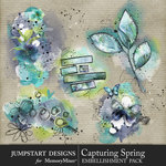 Capturing Spring Art Accent Pack-$3.99 (Jumpstart Designs)