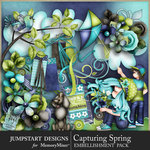 Capturing Spring Add On Emb Pack-$4.99 (Jumpstart Designs)