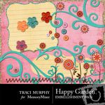 Happy Garden Embellishment Pack-$3.00 (Traci Murphy)