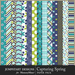 Capturing Spring Pattern Paper Pack-$3.99 (Jumpstart Designs)