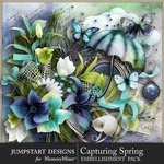 Capturing Spring Embellishment Pack-$4.99 (Jumpstart Designs)