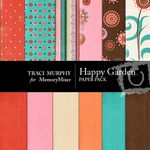 Happy Garden Paper Pack-$4.00 (Traci Murphy)
