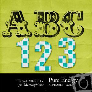 Tracimurphy pureenergy alphabet medium
