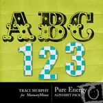 Tracimurphy pureenergy alphabet small