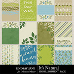 Its Natural Journal Cards Pack-$1.99 (Lindsay Jane)