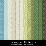 Its Natural Pattern Paper Pack-$1.99 (Lindsay Jane)