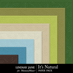 Its Natural Embossed Paper Pack-$1.99 (Lindsay Jane)