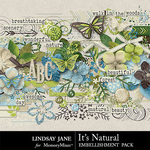 Its Natural Embellishment Pack-$3.49 (Lindsay Jane)