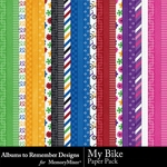 My Bike Paper Pack-$2.99 (Albums to Remember)