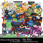 My Bike Embellishment Pack-$3.99 (Albums to Remember)