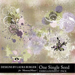 One Single Seed Grunge Scatters Pack-$3.50 (Laura Burger)