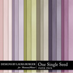 One Single Seed Solid Paper Pack-$2.99 (Laura Burger)