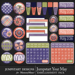 Jumpstart Your May Flairs Pack-$3.99 (Jumpstart Designs)
