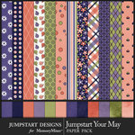 Jumpstart Your May Paper Pack-$2.40 (Jumpstart Designs)