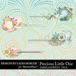 Precious Little One Borders Pack-$3.49 (Laura Burger)