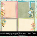 Precious Little One Stacked Paper Pack-$4.99 (Laura Burger)