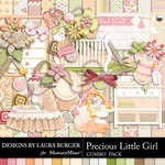 Precious Little Girl Combo Pack-$5.59 (Laura Burger)