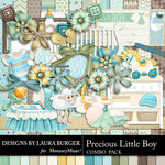 Precious Little Boy Combo Pack-$7.99 (Laura Burger)