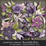 Beautifully Boho Blooms Pack-$4.99 (Jumpstart Designs)