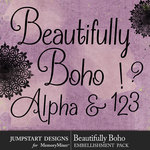 Beautifully Boho Alphabet Pack-$3.99 (Jumpstart Designs)