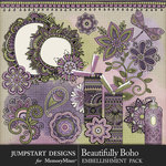 Beautifully Boho Doodles Pack-$3.99 (Jumpstart Designs)
