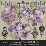 Beautifully Boho Accents Pack-$3.99 (Jumpstart Designs)