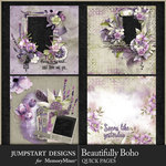 Beautifully Boho QuickPage 2-$3.99 (Jumpstart Designs)