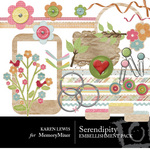 Serendipity KL Embellishment Pack-$3.00 (Karen Lewis)