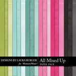 All Mixed Up Solid Paper Pack-$2.99 (Laura Burger)