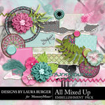 All Mixed Up Add On Embellishments-$2.99 (Laura Burger)