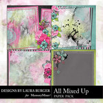 All Mixed Up Stacked Paper Pack-$4.99 (Laura Burger)