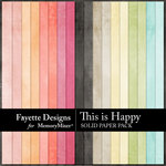 This is Happy Solid Paper Pack-$3.99 (Fayette Designs)