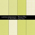 Sweet Pea Paper Pack-$2.99 (Lasting Impressions)