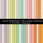 Donut Days Collection Paper Pack-$5.99 (Lasting Impressions)
