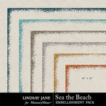 Sea the Beach Glitter Borders Pack-$1.99 (Lindsay Jane)