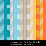 Sea the Beach Extra Paper Pack-$1.99 (Lindsay Jane)
