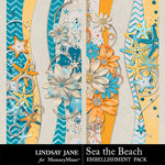 Sea the Beach Borders Pack-$1.99 (Lindsay Jane)