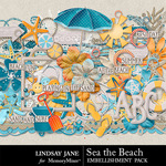 Sea the Beach Embellishment Pack-$3.49 (Lindsay Jane)