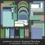 Jumpstart Your June Journal Pack-$3.99 (Jumpstart Designs)