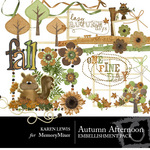 Autumn Afternoon Embellishment Pack-$3.00 (Karen Lewis)
