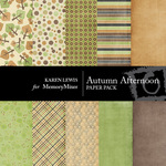 Autumn Afternoon Paper Pack-$4.00 (Karen Lewis)
