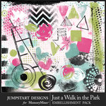 Just a Walk in the Park Accents Pack-$3.99 (Jumpstart Designs)