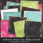 Just a Walk in the Park Edgy Paper Pack-$3.99 (Jumpstart Designs)