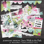 Just a Walk in the Park Collage Accents Pack-$3.99 (Jumpstart Designs)