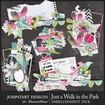 Just a Walk in the Park Torn Clusters Pack-$3.99 (Jumpstart Designs)