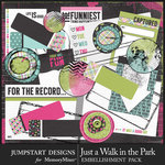 Just a Walk in the Park Journal Bits-$3.99 (Jumpstart Designs)
